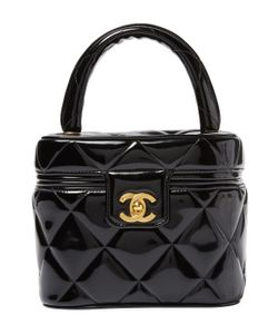 Chanel | Vintage Quilted Patent Leather Vanity