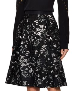 Prabal Gurung | Cotton Jacquard A Line Skirt