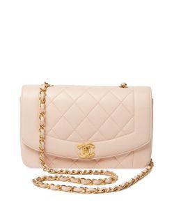 Chanel   Vintage Lambskin Border Flap