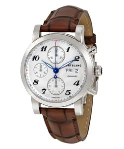 Montblanc   Star Leather Chronograph Watch 38mm