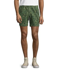 Michael Bastian | Bel Air Printed Snap Shorts