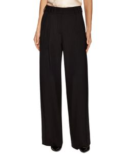Paul Smith | Front Pleat Wide Leg Pant