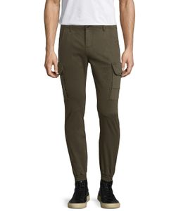 Ron Tomson | Flap Pocket Ankle Tight Sweatpants