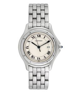 Cartier | Vintage Panthere Stainless Steel Watch 33mm
