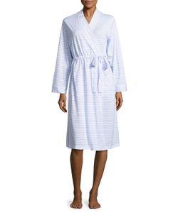 Midnight by Carole Hochman   Ballet Cotton Striped Robe