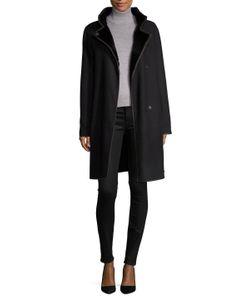 Yves Salomon | Manteau Leather Coat