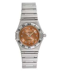 Omega | Vintage Constellation Stainless Steel Diamond Watch 22.5mm