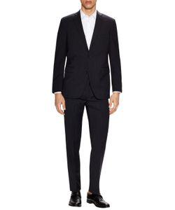 Saks Fifth Avenue | Wool Striped Notch Lapel Suit