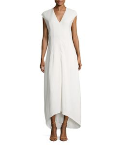 Narciso Rodriguez | Cap Sleeve High Low Dress