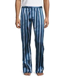 La Perla | Silk Embroide Pants