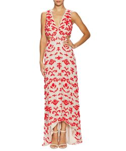 Alice + Olivia   Juelia Embellished Cut Out Gown