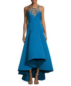 Marchesa Notte | Embellished High Low Gown