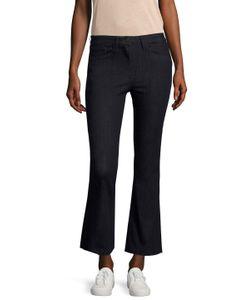 3X1   High Rise Wide Cuff Cropped Jean