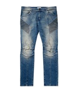 Pierre Balmain | Faded Cotton-Blend Slim Fit Jeans