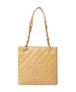 Chanel | Vintage Quilted Caviar Petite Shopper Pst