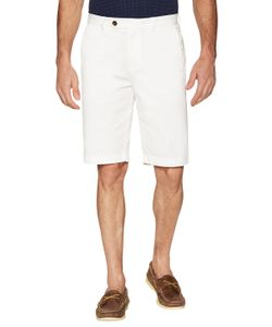 Brooks Brothers | Dyed Button Flat Front Shorts
