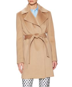 Brooks Brothers | Wool Belted Wrap Coat