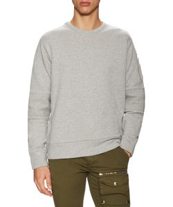 Michael Bastian | Cotton Moto Sweatshirt