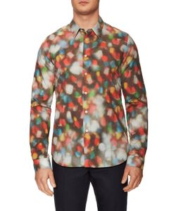 PS Paul Smith   Printed Dots Slim Fit Sportshirt