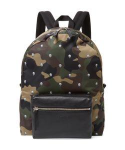 Alexander McQueen   Skull Camouflage Backpack