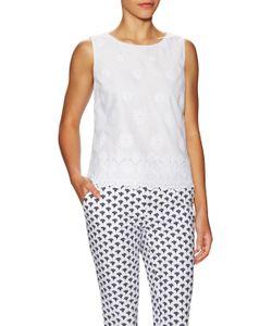 Diane von Furstenberg | Edin Cotton Lace Hem Top
