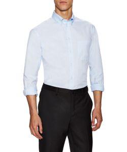 Armani Collezioni | Solid Patch Pocket Dress Shirt