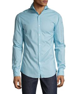 Michael Bastian | Cotton Spread Collar Sportshirt