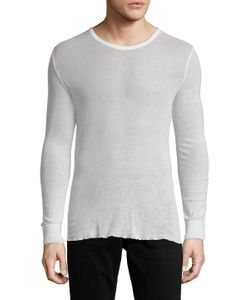 Blk Dnm | Cotton Long Sleeve Top