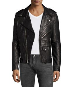 Blk Dnm | Leather Freedom Jacket