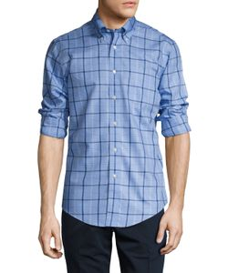 Brooks Brothers | Nitw Medium Windowpane Plaid Sportshirt