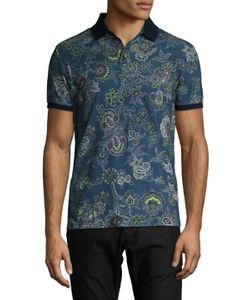 Etro | Pique Polo Shirt