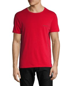 Emporio Armani | Pop Color Stretch Cotton Crewneck T-Shirt