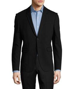 Paul Smith | Solid Notch Lapel Slim Fit Sportcoat