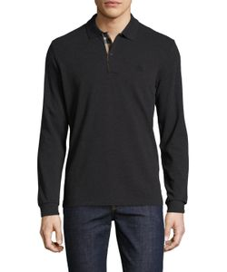 Burberry London | Solid Cotton Polo