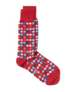 Paul Smith | Neon Polka Socks