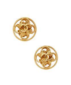 Chanel | Vintage Interlocking Rings Stud Earrings