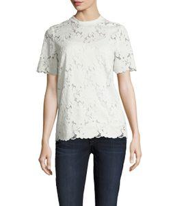 Lanvin | Lace Crewneck T-Shirt