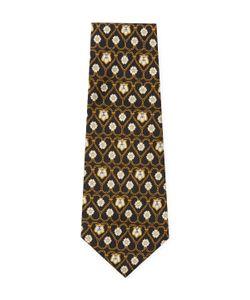 Chanel | Vintage Heart Chain Silk Tie