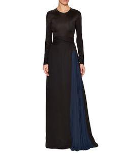 Issa | Vanka Silk Crewneck Maxi Dress