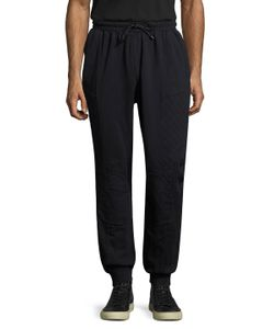 Pierre Balmain | Quilted Solid Sweatpants