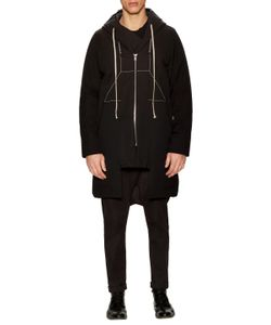 Rick Owens | Cotton Zip Coat