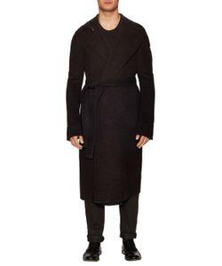 Rick Owens | Stand Collar Coat