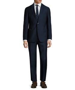 Armani Collezioni | Woven Notch Lapel Suit