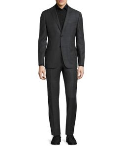 Z Zegna | Buttoned Wool Suit