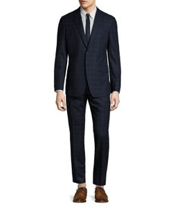 Paul Smith | Wool Windowpane Tailo Fit Suit