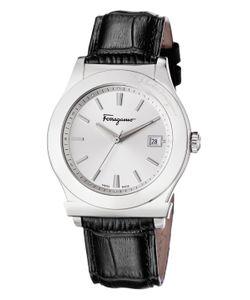 Salvatore Ferragamo | 1898 Stainless Steel Leather Watch 40mm