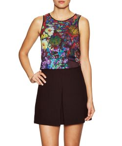 Clover Canyon | Bright Blooms Top
