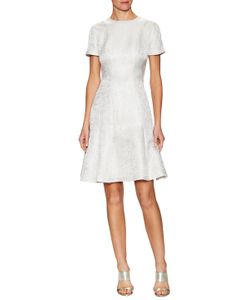 Carolina Herrera | Jacquard Fit And Flare Dress