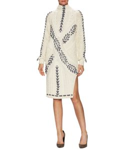 Prabal Gurung | Hand Cable Knit Shift Dress