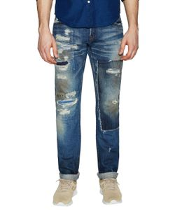 Prps Noir | Radiant Japanese Distressed Straight Leg Jeans